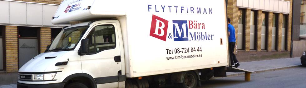 Flittfirma i Stockholm BM-Bära Möbler